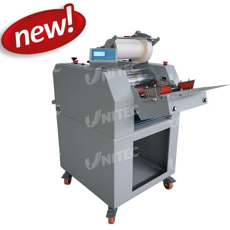 Pneumatic One Sided Laminator Film Lamination Machine With Separator SH-380AF Automatic Feeding