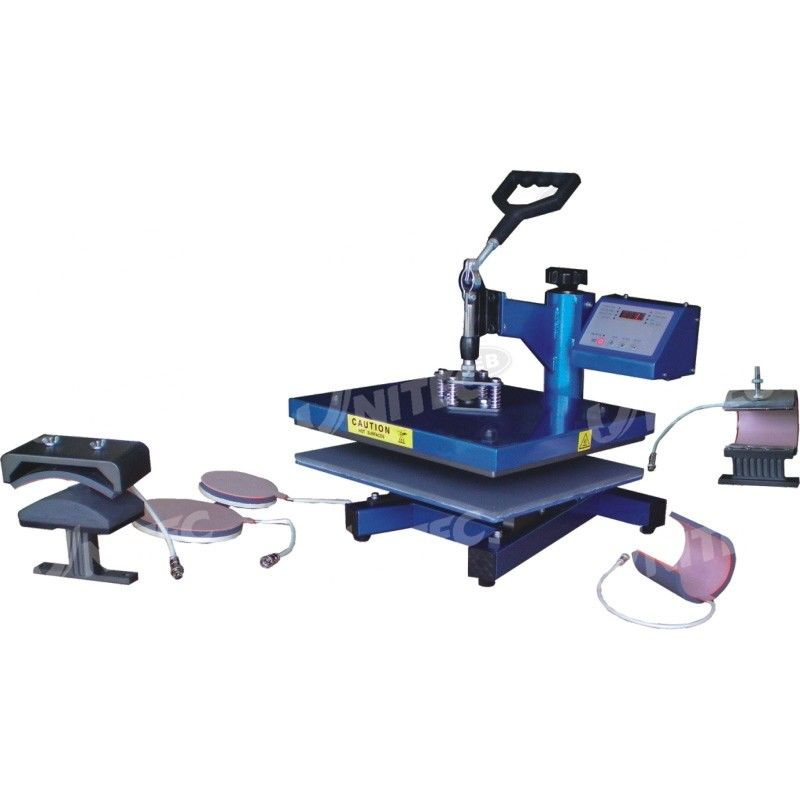 Multi - Function Power Press Heat and Press Machine , Mug Heat Press Machine