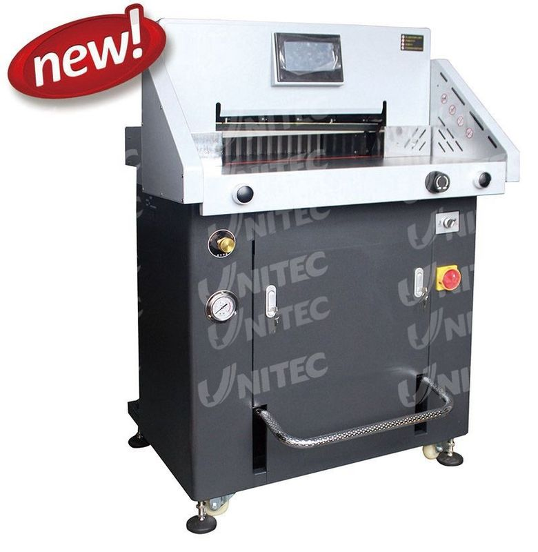 2800W Hydraulic Programmable Paper Cutter H720RT with CE Certificated