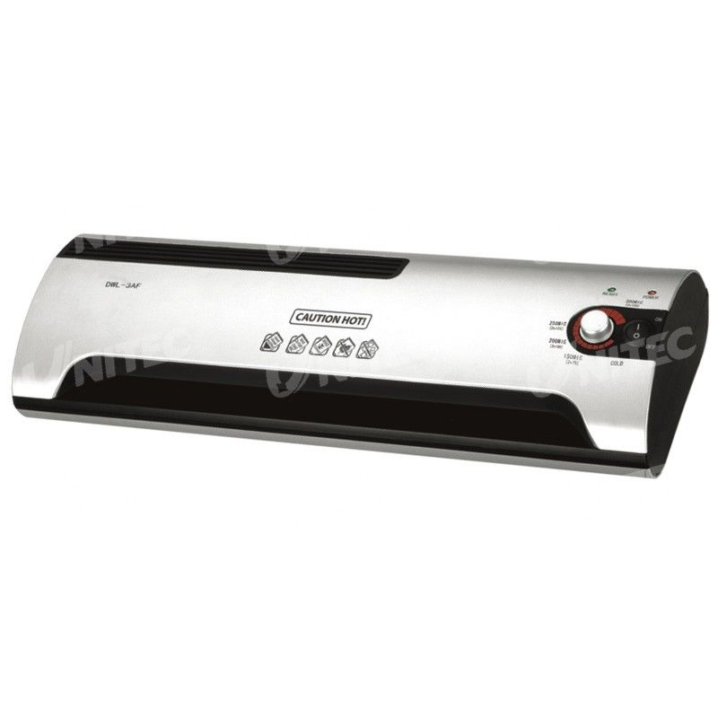 3.54Kgs Pouch Roll Laminator Machine At Home With Infrared Hot Shoe DW-3AF