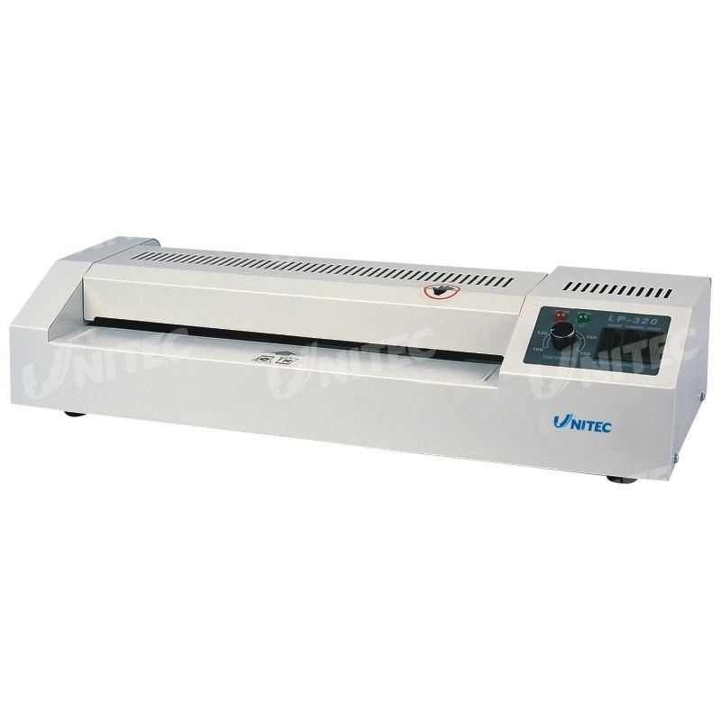 620W Office Laminator Machine 4 Rollers Variable Temperature Control LP-320