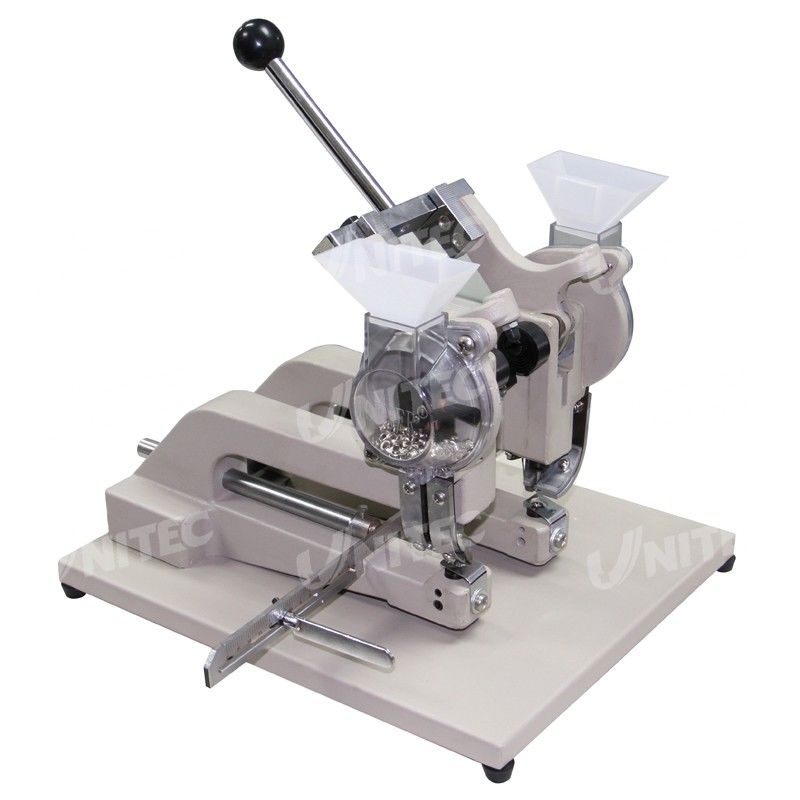 CE 26Kg Hand Eyelet Press Machine Two Head 3mm Binding Thickness