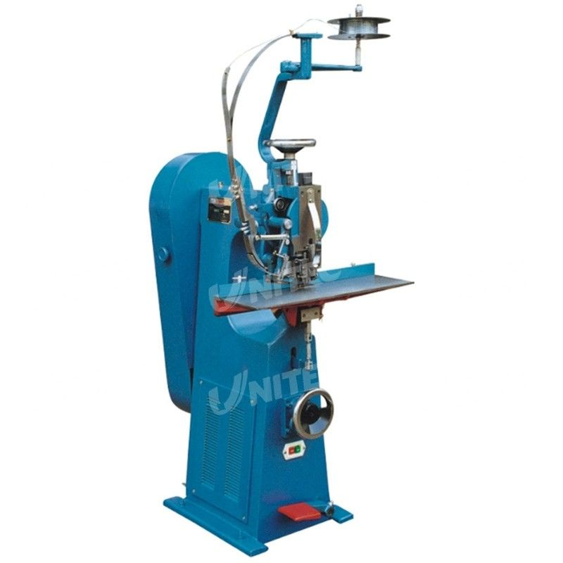Single - Head Flat / Saddle Wire Stitcher Blue 0.2mm - 25mm Stapling Capacity